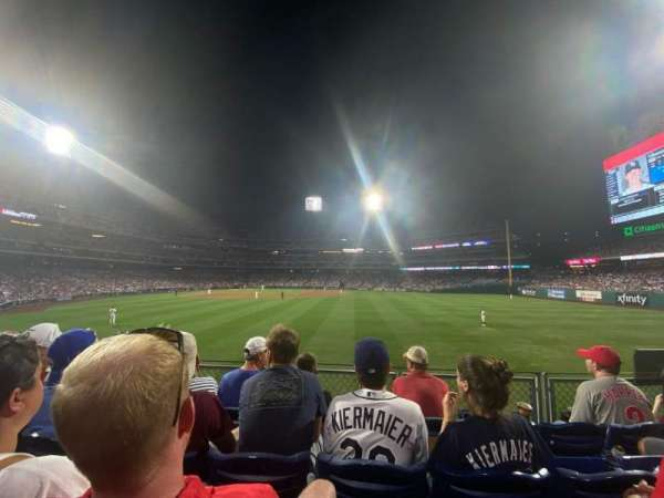 Citizens Bank Park, section: 103, row: 4, seat: 6
