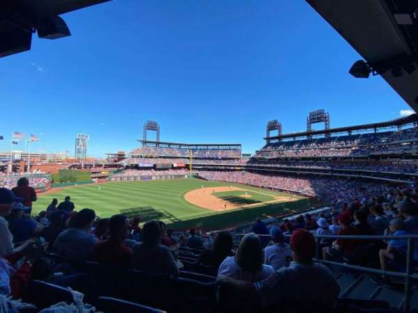 Citizens Bank Park, section: 233, row: 7, seat: 5