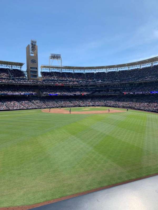 PETCO Park, section: The point, row: A, seat: 44