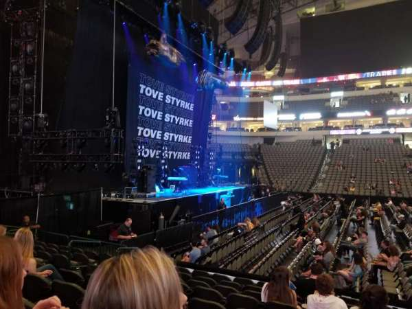 American Airlines Center, section: 120, row: J, seat: 9