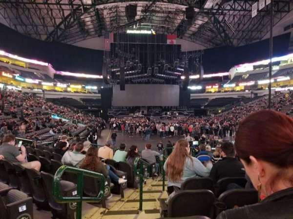 American Airlines Center, section: 113, row: K, seat: 18