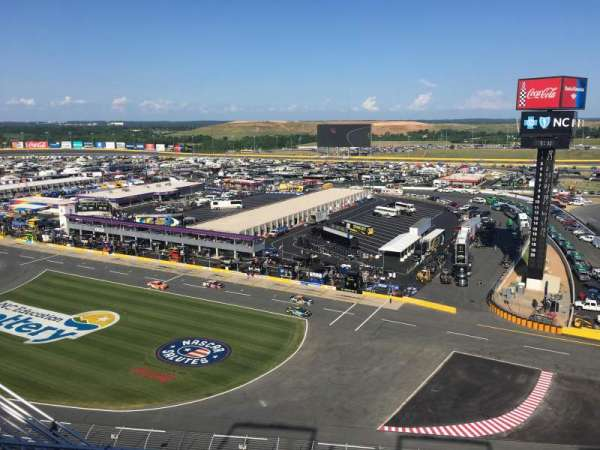Charlotte Motor Speedway, section: Ford Upper Deck, row: 51, seat: 25