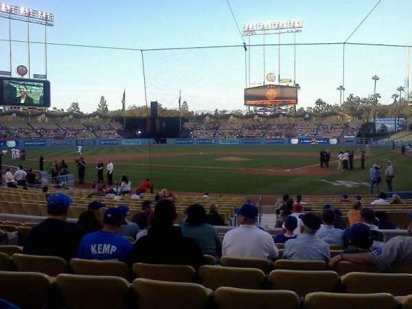 Dodger Stadium, section: 5FD, row: G, seat: 5