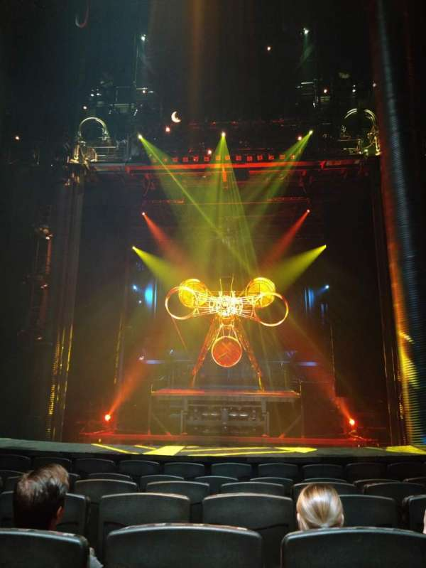 KÀ Theatre - MGM Grand, section: 102, row: G, seat: 14