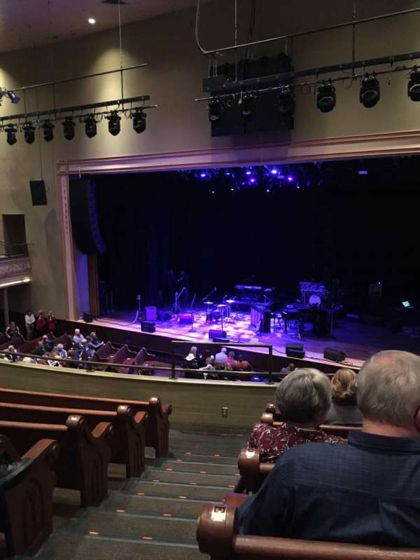 Ryman Auditorium, section: BAL-11, row: G, seat: 10