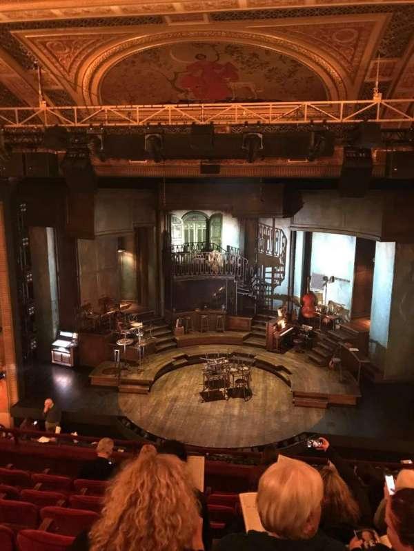 Walter Kerr Theatre, section: Mezzanine C, row: G, seat: 104