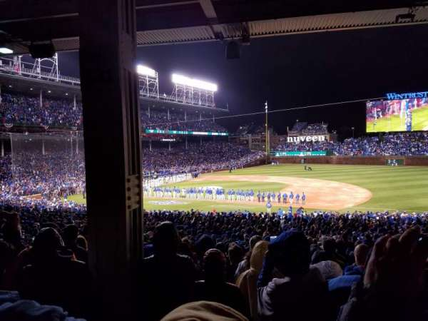 Wrigley Field, section: 226, row: 10, seat: 4
