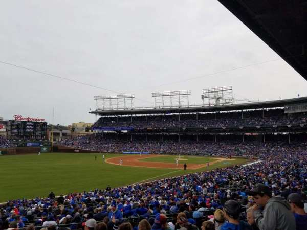 Wrigley Field, section: 204, row: 10, seat: 14