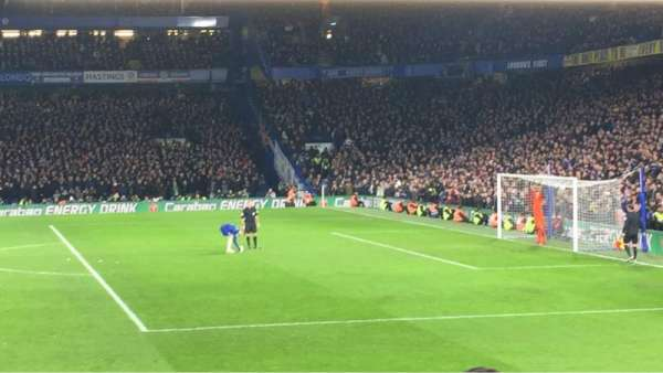 Stamford Bridge, section: ELN2, row: S