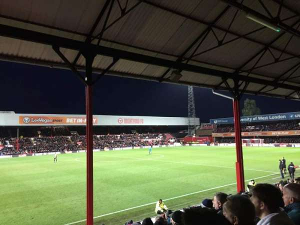 Griffin Park, section: N305, row: R