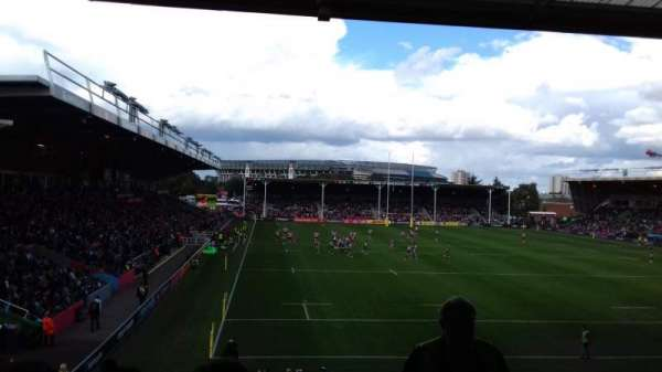 The Stoop, section: North, row: U, seat: 8