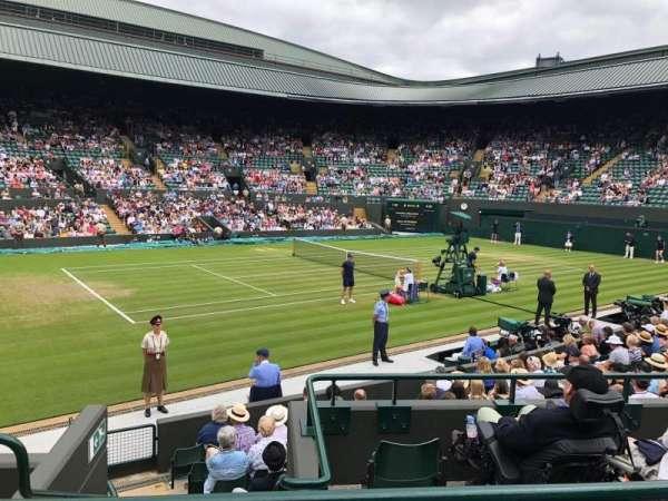 Wimbledon, Court No. 1, section: 32, row: 2, seat: 5
