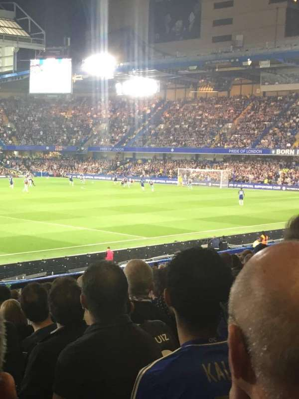 Stamford Bridge, section: West stand lower 8, row: 31, seat: 190