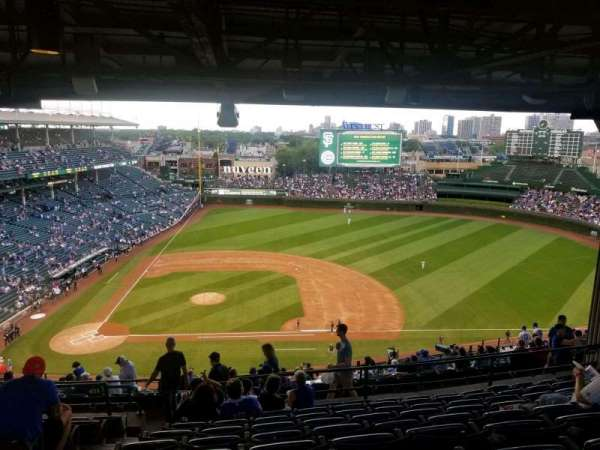 Wrigley Field, section: 424r, row: 9, seat: 1-5