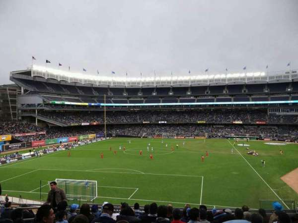 Yankee Stadium, section: 233B, row: 10, seat: 8
