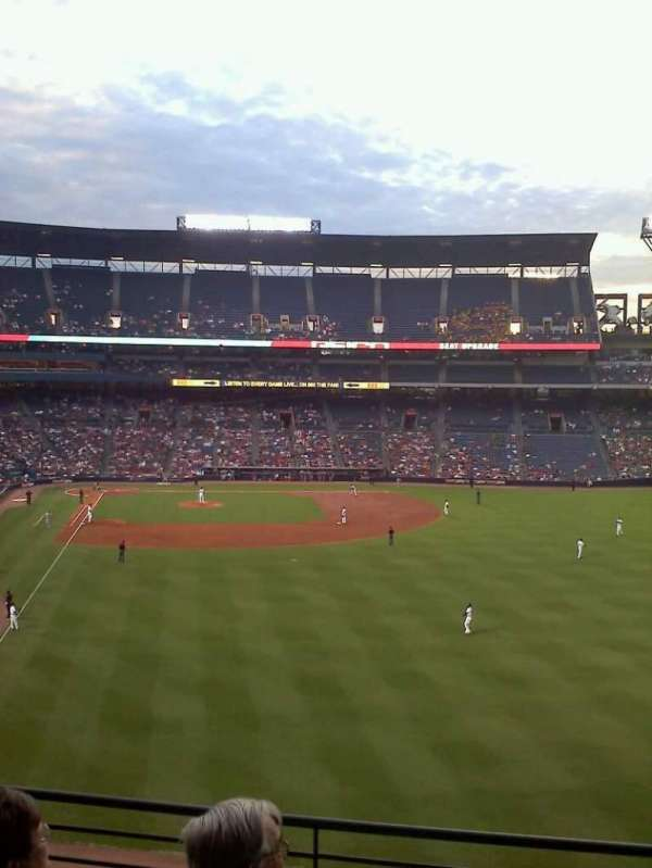 Turner Field, section: 333, row: 4, seat: 11