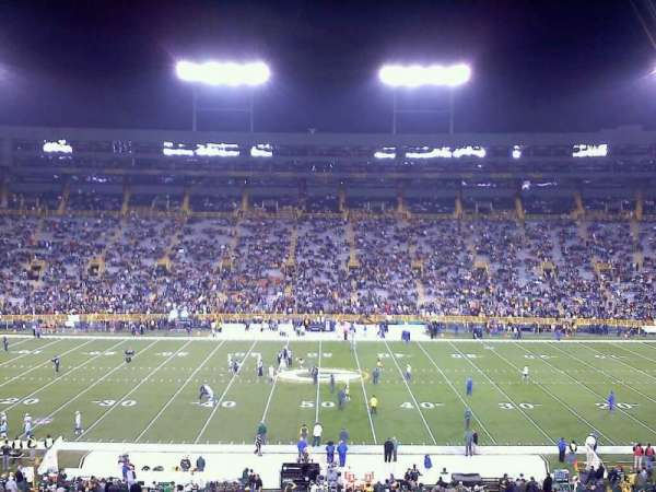 Lambeau Field, section: 120, row: 55, seat: 15