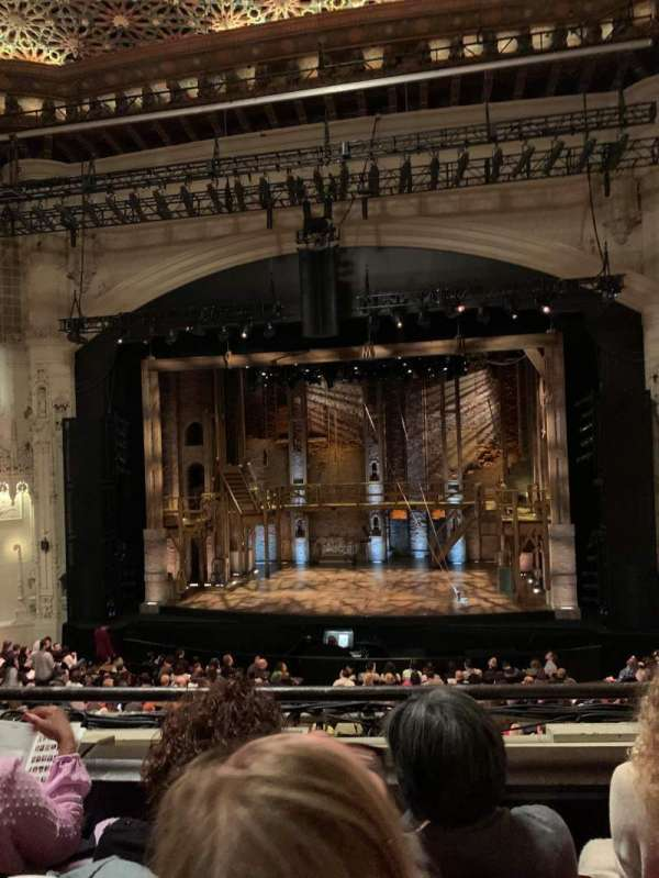 Orpheum Theatre (San Francisco), section: Loge RC, row: C, seat: 112
