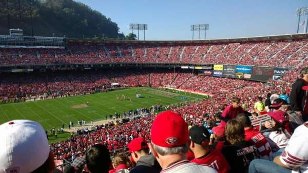 Candlestick Park, section: UR33, row: 8, seat: 11