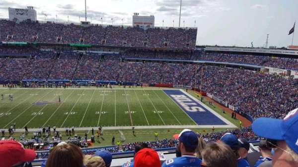 New Era Field, section: 310, row: 5, seat: 16