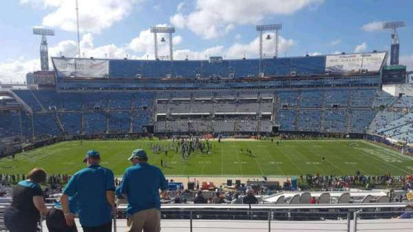 TIAA Bank Field, section: 236, row: F, seat: 16