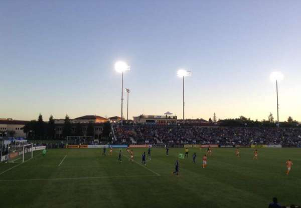 Stevens Stadium, section: 101, row: 11, seat: 9