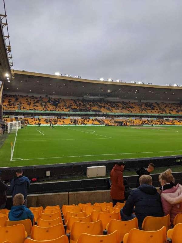 Molineux Stadium, section: Jl10, row: K, seat: 264