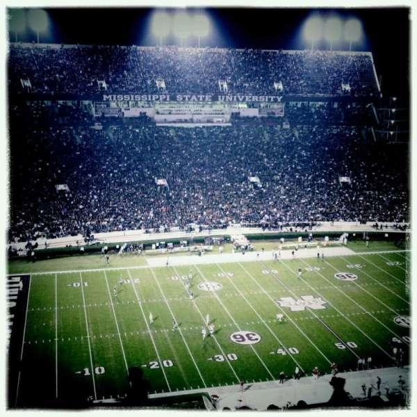 Davis Wade Stadium, section: 703, row: 15, seat: 30