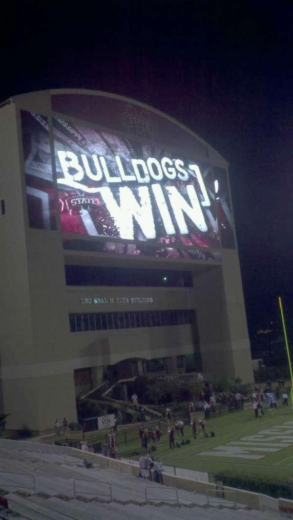 Davis Wade Stadium, section: 23, row: 17, seat: 7
