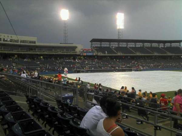 Harbor Park, section: 216, row: R, seat: 12