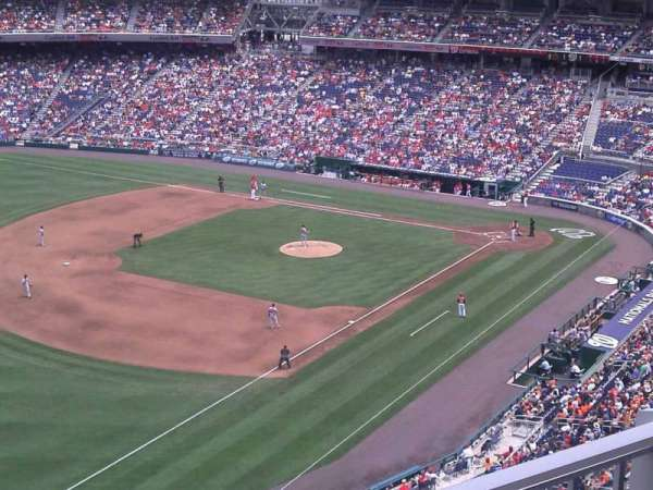Nationals Park, section: 303, row: k, seat: 3