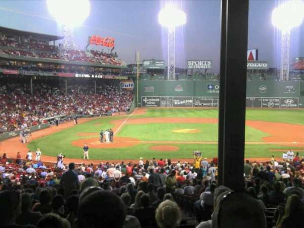 Fenway Park, section: Grandstand 17, row: 9, seat: 3