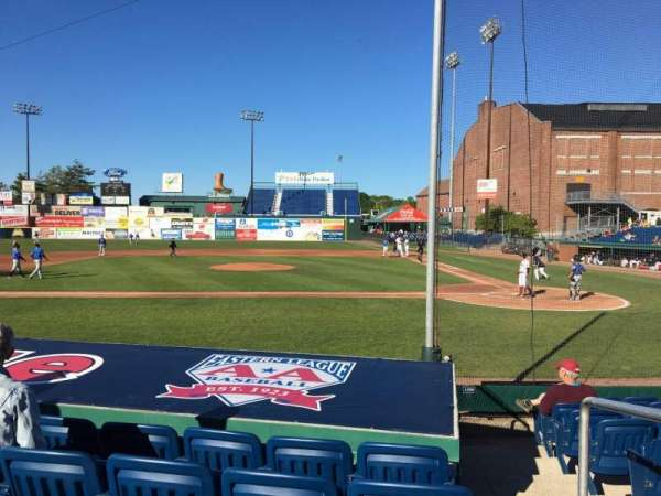 Hadlock Field, section: 110, row: K, seat: 5