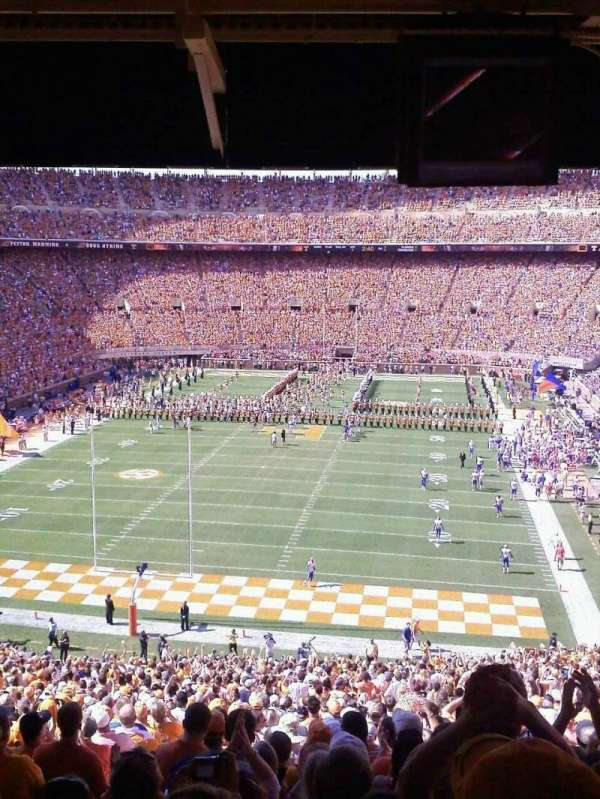 Neyland Stadium, section: K, row: 60ish