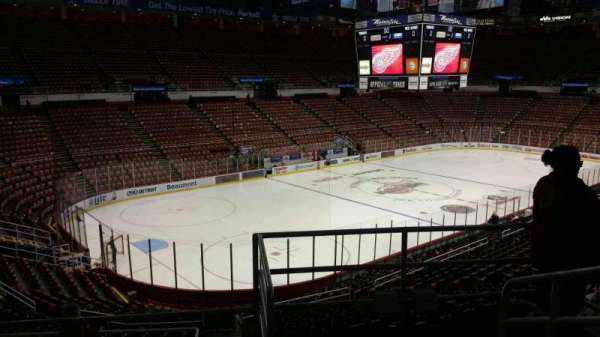 Joe Louis Arena, section: 212A, row: 5, seat: 1
