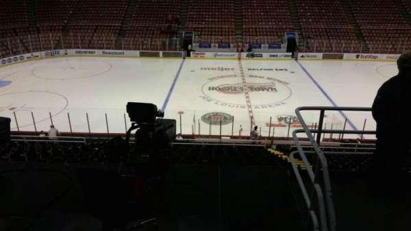 Joe Louis Arena, section: 208, row: 5, seat: 5