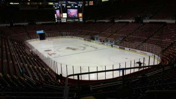 Joe Louis Arena, section: 203A, row: 5, seat: 3