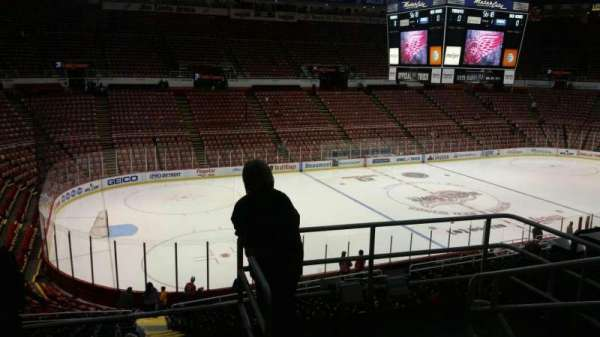 Joe Louis Arena, section: 225A, row: 5, seat: 2