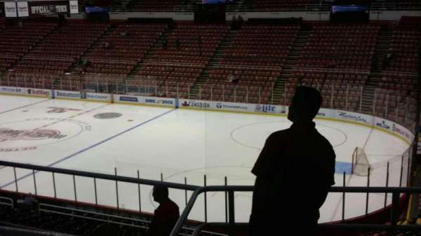 Joe Louis Arena, section: 218B, row: 5, seat: 8