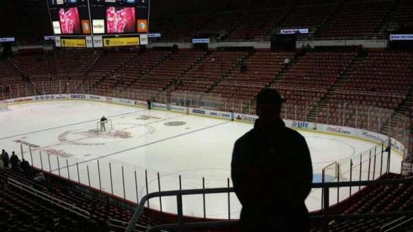 Joe Louis Arena, section: 217C, row: 5, seat: 19
