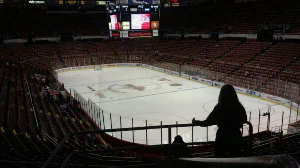 Joe Louis Arena, section: 217A, row: 5, seat: 1
