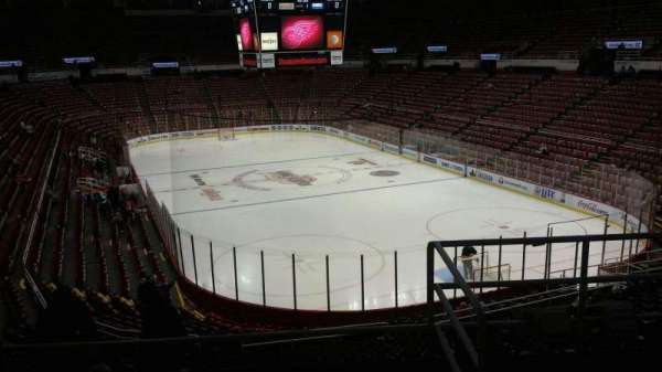 Joe Louis Arena, section: 216B, row: 5, seat: 13