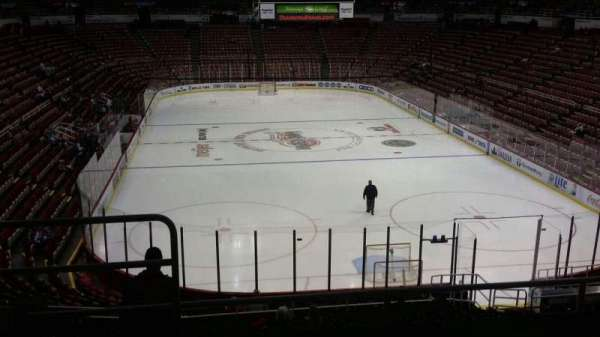 Joe Louis Arena, section: 215, row: 5, seat: 14
