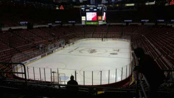 Joe Louis Arena, section: 213B, row: 5, seat: 13