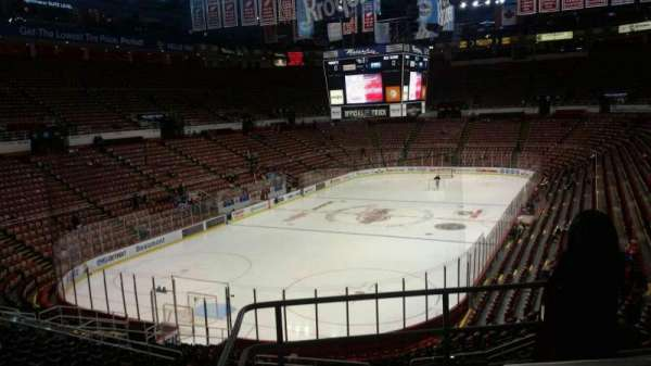 Joe Louis Arena, section: 213A, row: 5, seat: 2