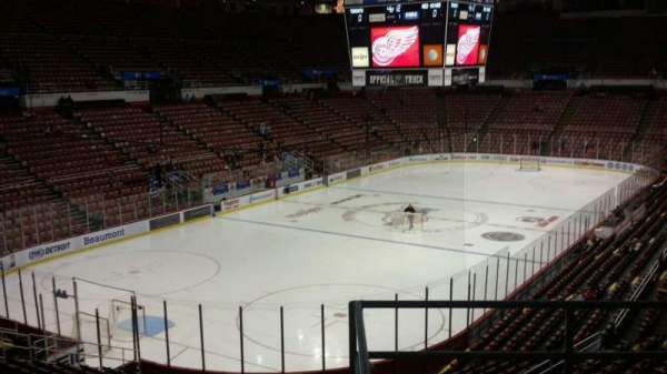 Joe Louis Arena, section: 212C, row: 5, seat: 18