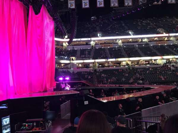 Bankers Life Fieldhouse, section: 18, row: 14, seat: 2