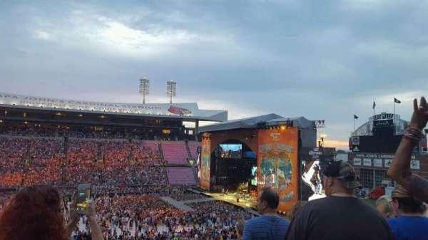 Papa John's Cardinal Stadium, section: 207, row: Y, seat: 1