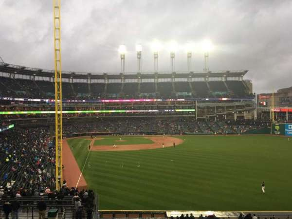Progressive Field, section: 311, row: E, seat: 19