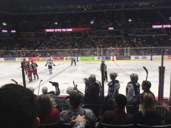Van Andel Arena, section: 122, row: F, seat: 15